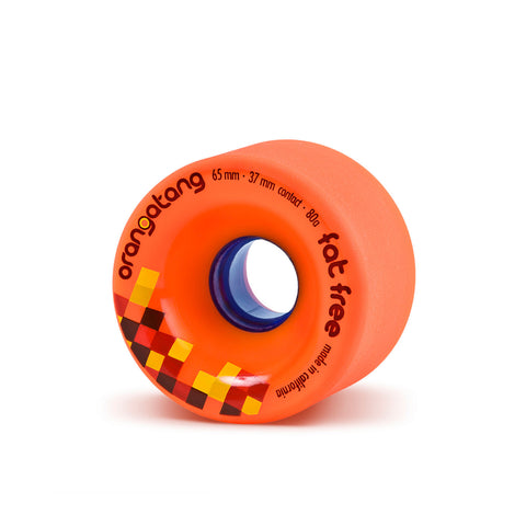 Orangatang Fat Free, 65mm 80a orange - Skate Planet Thailand