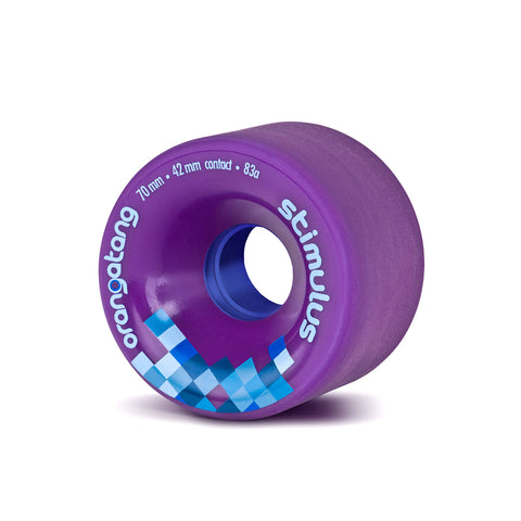 Orangatang Stimulus, 70mm  83a purple - Skate Planet Thailand