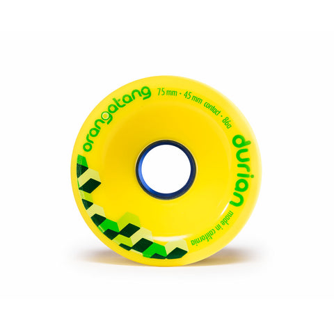 Orangatang Durian, 75mm yellow 86a - Skate Planet Thailand