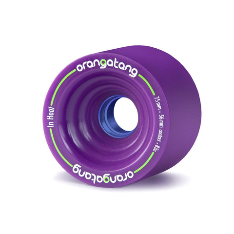 Orangatang In Heat, 75mm 83a purple - Skate Planet Thailand