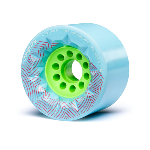 The Orangatang Caguama 85mm blue - Skate Planet Thailand