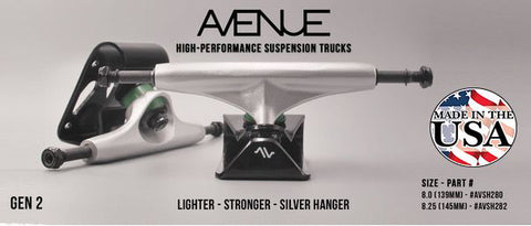 Avenue Suspension Truck Gen 2   Size: 8.00'. - Skate Planet Thailand
