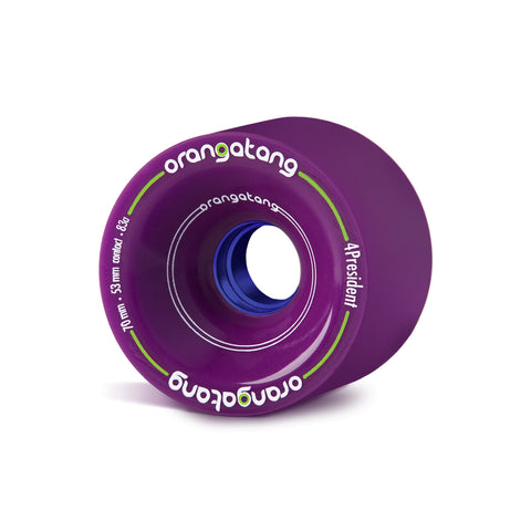 Orangatang 4President, 70mm purple - Skate Planet Thailand