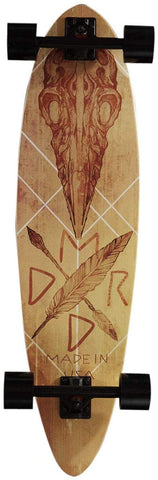 "Madrid Blunt 36"" Longboard Complete - Crow - Skate Planet Thailand"