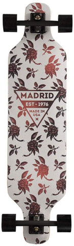 "Madrid Dream Rose Top Mount 39"" Longboard Complete - Rosa - Skate Planet Thailand"