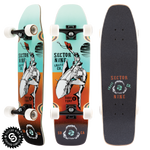 "Sector 9 GAUCHO NINETY FIVE TEAL  Length: 30.5"" Width: 8.375"" - Skate Planet Thailand"