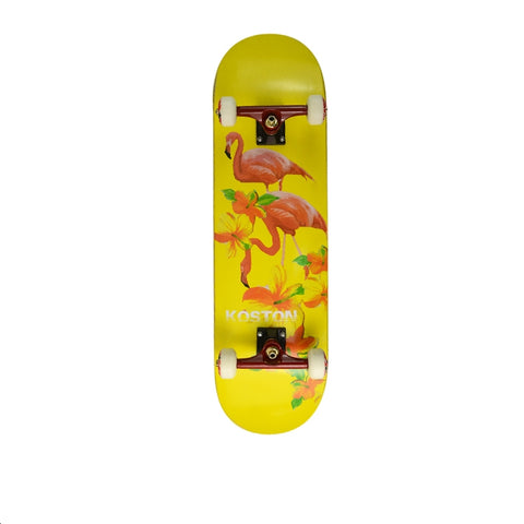 KOSTON Skateboard Flamingo - Skate Planet Thailand
