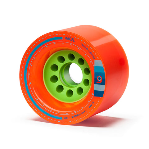 Orangatang Kegel, 80mm 80a orange