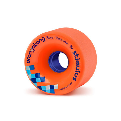 Orangatang Stimulus, 70mm  80a Orange - Skate Planet Thailand