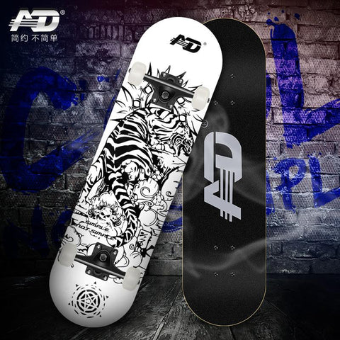 Skateboard AD for Beginners and advanced Skaters + FREE Bag + FREE Tool ! ☺ Limited Stock! - Skate Planet Thailand