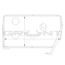 Load image into Gallery viewer, Dual battery tray Toyota Landcruiser 70 76 78 79 Series V8 turbo diesel