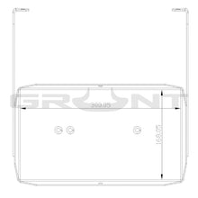 Load image into Gallery viewer, Nissan Patrol GQ Grunt dual battery tray 1988-1997 4.2 diesel