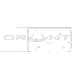 Dual battery tray Jeep Wrangler JK Unlimited 4-door 2007-2019