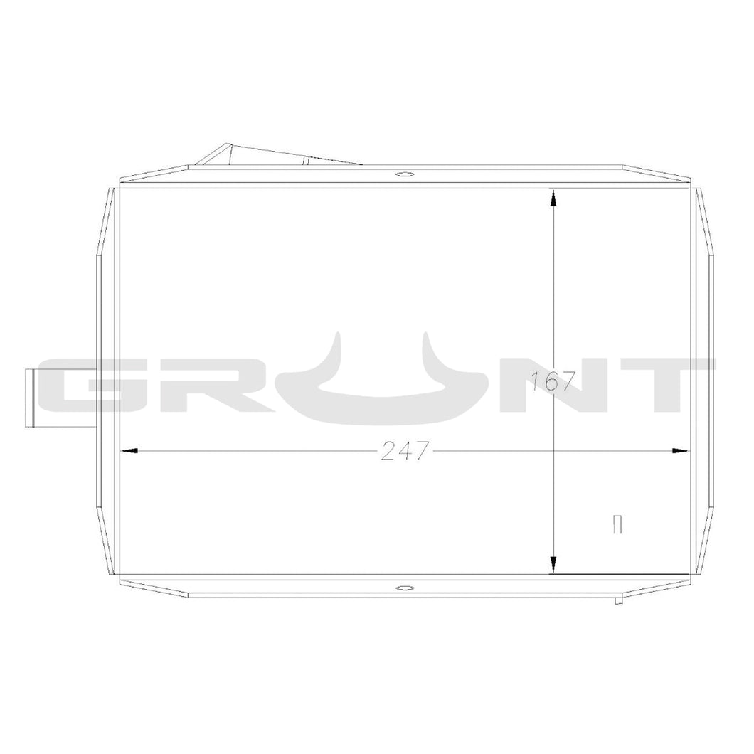 Ford Ranger/Mazda BT50 2007-2011 PJ PK 2.5 3.0 dual battery tray (auto only)