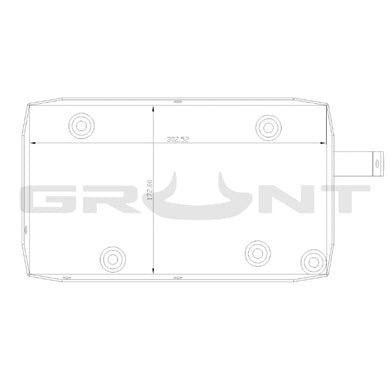 Dual battery tray system Toyota Landcruiser Prado 150 3.0 turbo diesel 2009-2015