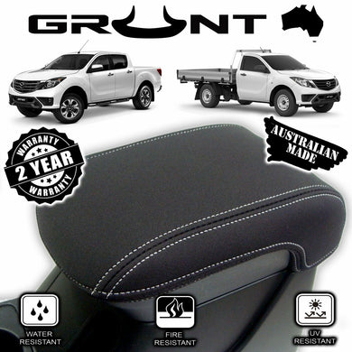 Mazda BT-50 2011-2019 neoprene centre console lid cover wetsuit material