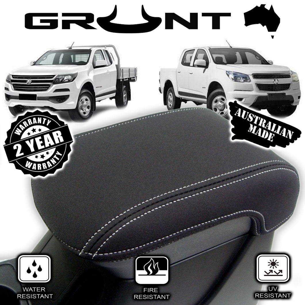 Holden Colorado RG neoprene centre console lid cover wetsuit material 2012-2019