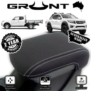 Nissan Navara D23 NP300 2015-2019 neoprene centre console lid cover wetsuit material