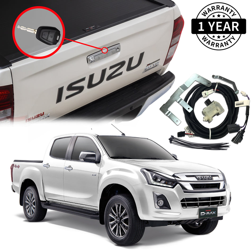 Isuzu D-Max Tailgate Central Locking Kit Suit MY15.5 -2019