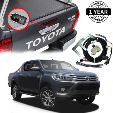 Toyota Hilux Tailgate Central Locking Kit Suit 2015 - 2018 (without barrel lock)