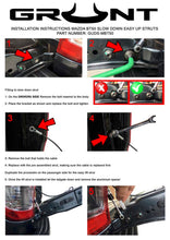 Load image into Gallery viewer, Mazda BT-50 2012-2020 tailgate strut assist system