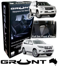 Load image into Gallery viewer, Toyota Prado 150 neoprene car seat covers 2009-Current