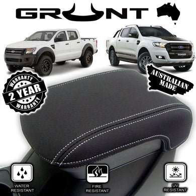 Ford Ranger neoprene centre console lid cover wetsuit material PX PX2 PX3 2011-2019