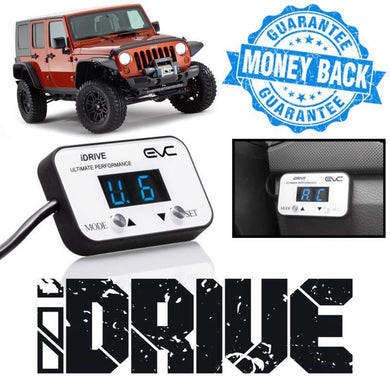 iDrive Wind Booster Throttle Controller Jeep Wrangler JK 2007-onward