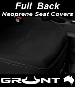 Volkswagen Amarok neoprene car seat covers 2011-2019 Optional Front, Rear, Front & Rear