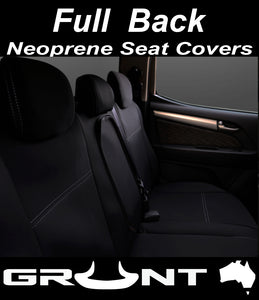 Toyota Landcruiser 70 76 79 Series neoprene car seat covers Optional Front, Rear, Front & Rear