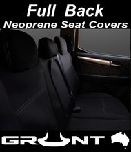 Load image into Gallery viewer, Mitsubish Triton MQ neoprene car seat covers 2015-2019 Optional Front, Rear, Front & Rear