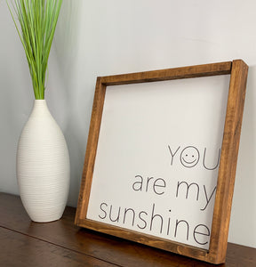 custom wood signs for home handmade decor | my sunshine wood sign