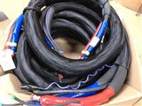 3/8x50' High Pressure Hose with TC and Scuff