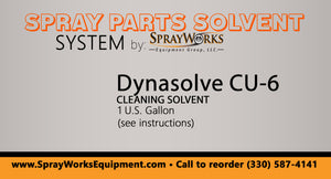 Dynasolve CU-6 - Spray Parts Solvent