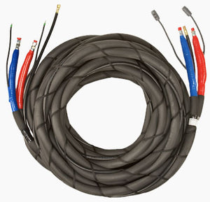 "3/8"" x 100 ft Low Pressure Heated Hose Assembly by PMC"