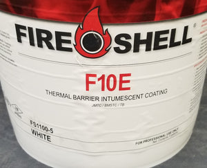 F10E - Fireshell Intumescent  Coating White, 5 Gallon Pail