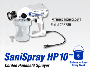 SaniSpray HP 10 Corded Handheld Sprayer