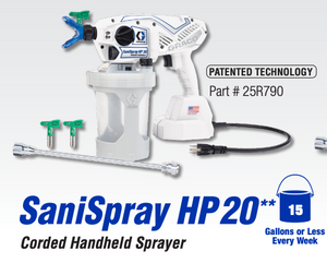 SaniSpray HP 20 Corded Handheld Sprayer