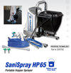 SaniSpray HP 65 Portable Hopper Sprayer