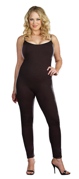 Basic Unitard Plus Size