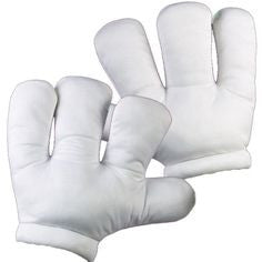 Cartoon Hands White