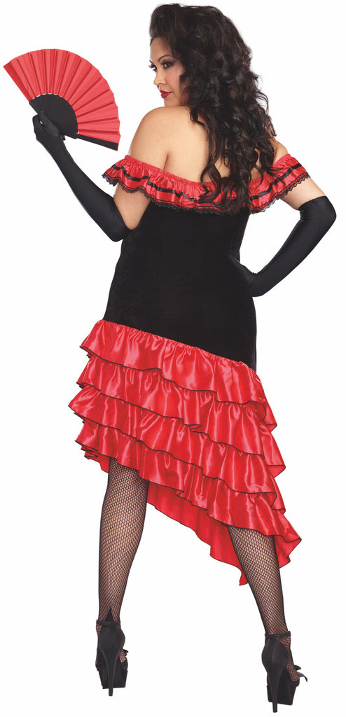 Spanish Dancer Plus Size