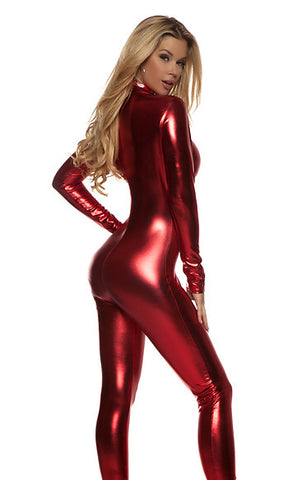 Catsuit Red