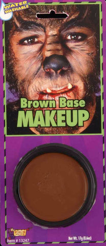 Brown Grease Paint Makeup