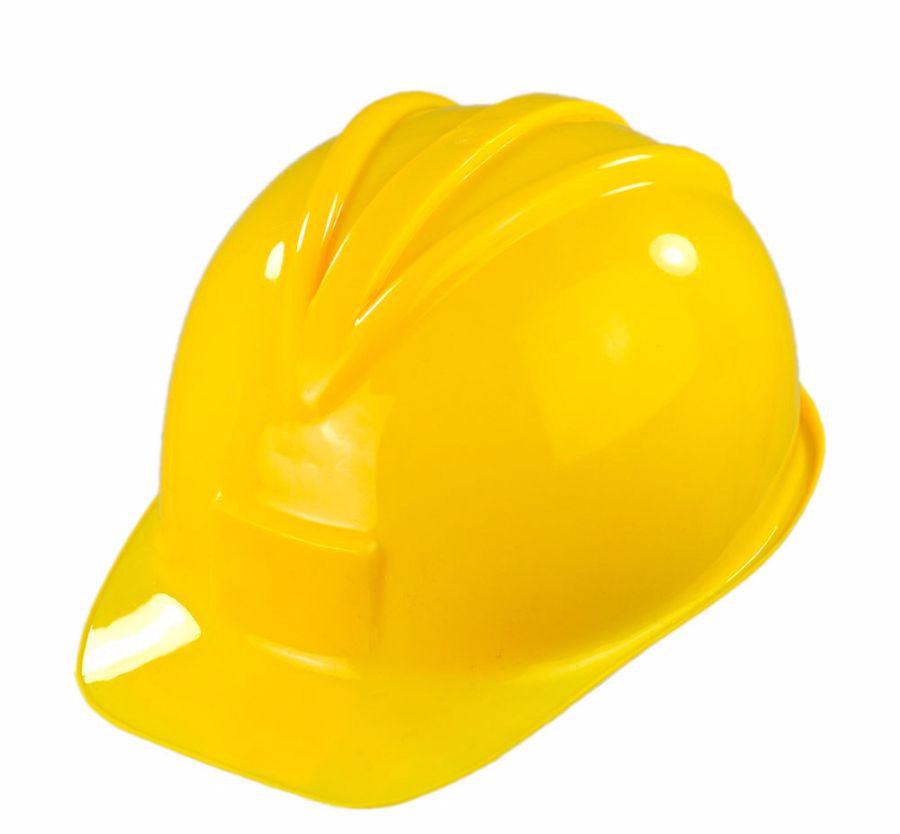 Plastic Yellow Construction Hat