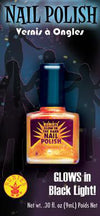 Black Light Nail Polish Orange
