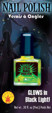 Green Glow-in-the-Dark Nail Polish