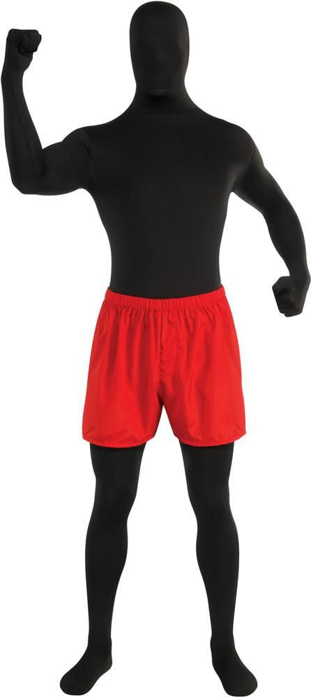 Red 2nd Skin Boxer Short
