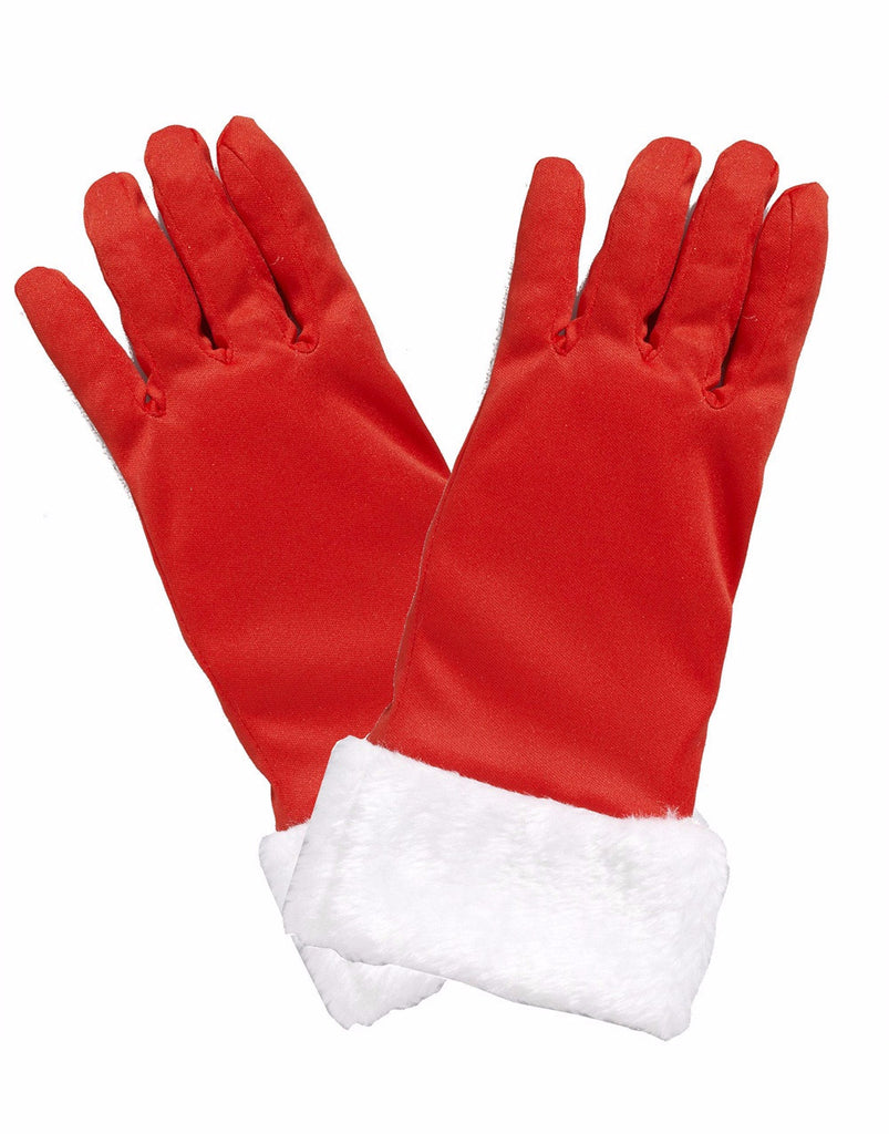 Christmas Gloves with Fur Cuffs