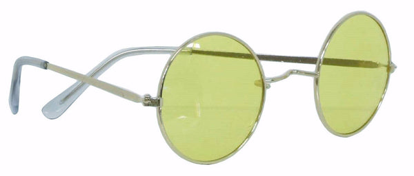 70's Round Glasses Green